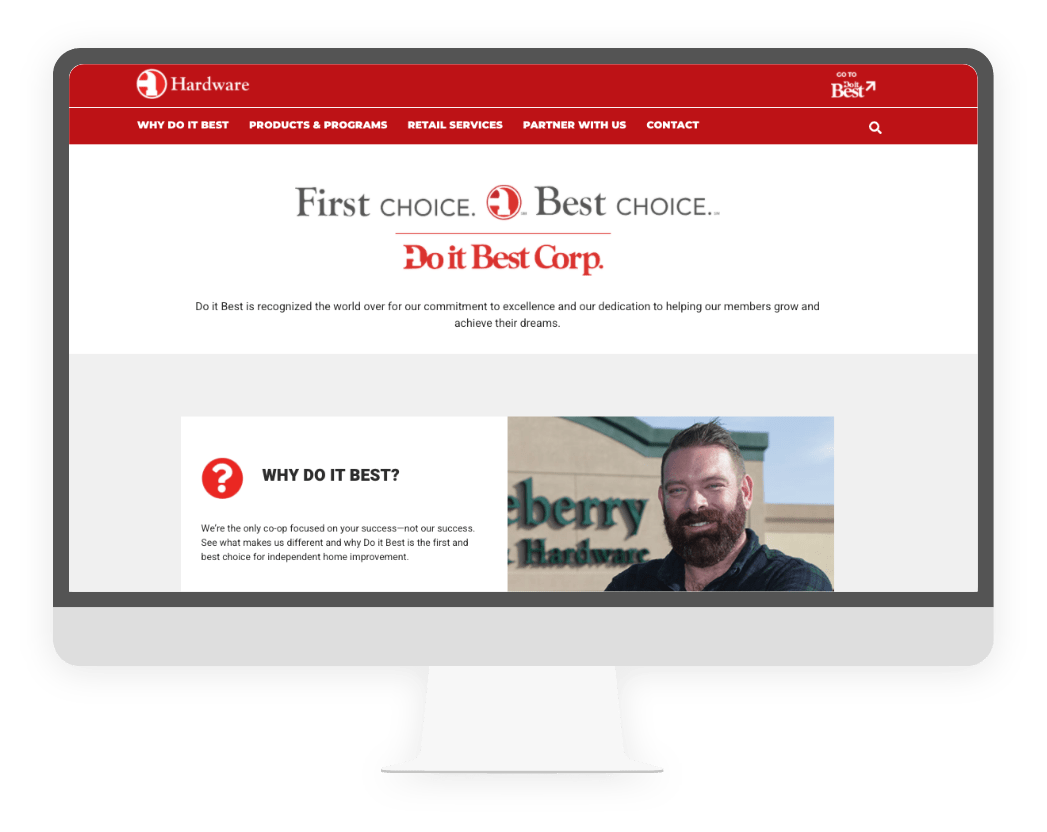 Do it Best Hardware Website