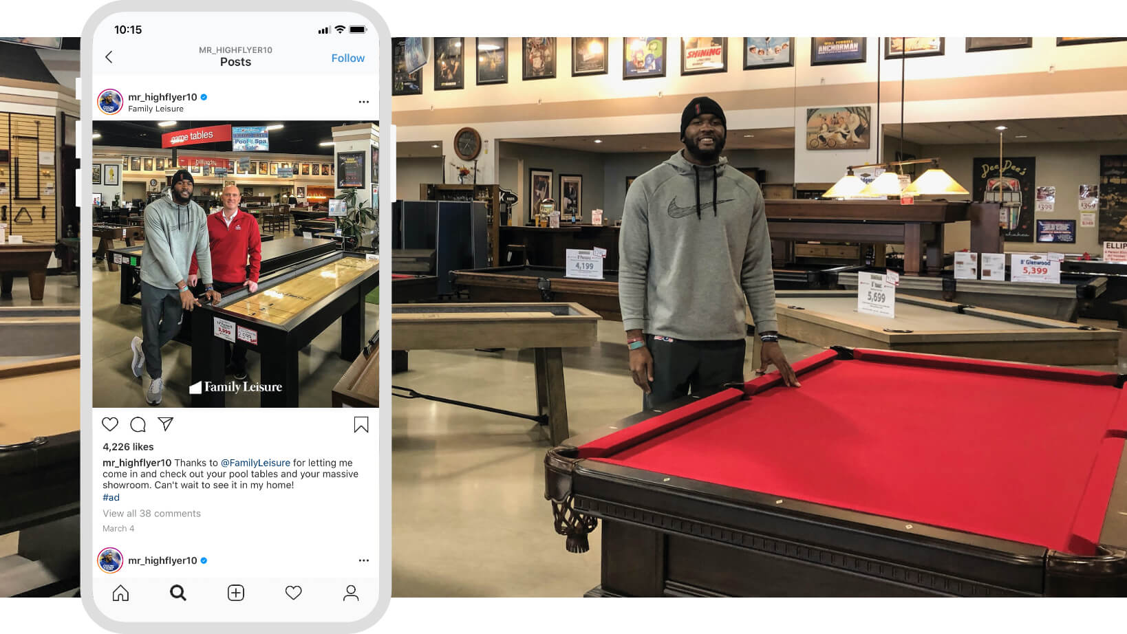 Family Leisure Social Media Engagement with Colts Players